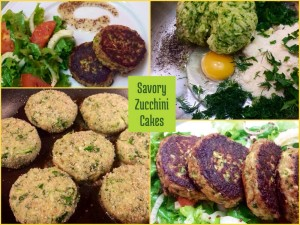 Savory Zucchini Cakes…a delicious low carb option!
