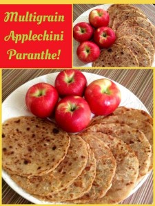 Multigrain Applechini Paranthe!