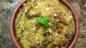 Mutton Biryani ….My Way!