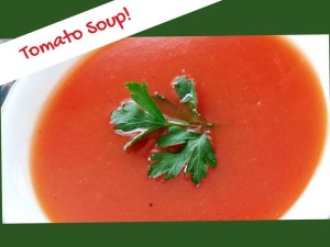 The Simplest Tomato Soup Ever!