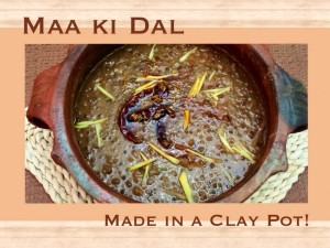 Maa ki Dal using Stove top / Slow cooker / Clay pot!