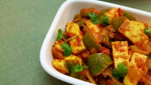 The Simple recipe for Kadhai Egg / Paneer
