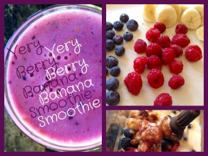 Very Berry Banana Smoothie