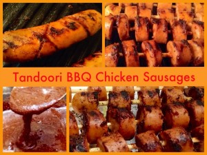 Tandoori BBQ Chicken/Tofu Sausages