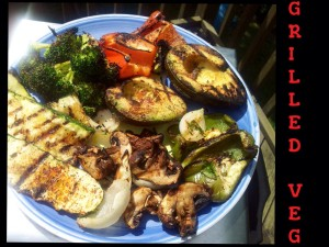 Chunky Grilled Vegetables