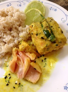 Steamed Mustard Fish
