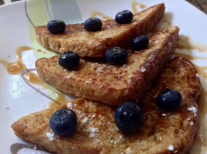 Sweet Buttermilk French Toast
