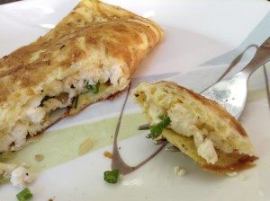 Protein Overload Paneer Omlette