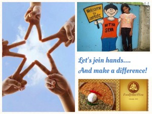 This Festive Season…Lets join hands and make a difference!