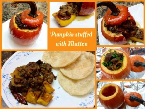 Pumpkin Mutton Roast