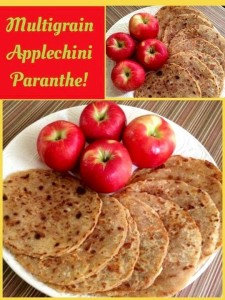 Multigrain Applechini Paranthas!