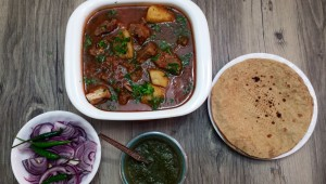 Mom's Boiled Mutton Curry / Stew