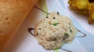 Coconut Chutney for Idli-Dosa-Vada