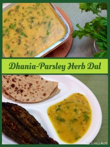 DHANIA PARSLEY HERB DAL
