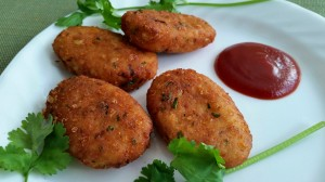 Mexican Corn Cutlets