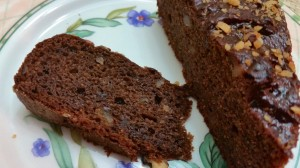 Eggless Chocolate Fig Cake