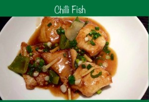 Indian Chinese Style CHILLI FISH / CHILLI PANEER