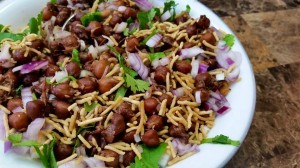 Sprouted Kala Chana Bhel