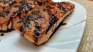 Pan-Seared Salmon with Balsamic Reduction