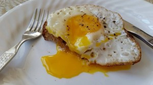 Crunchy Fried Egg