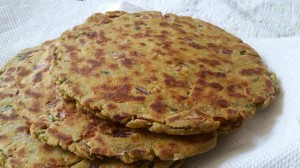 Stuffed Mexican Roti/Paranthas