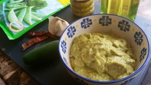 Raw Mango Pesto in 2 Avatars