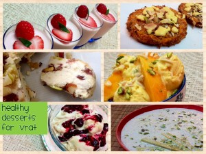 Healthy Desserts for Vrat