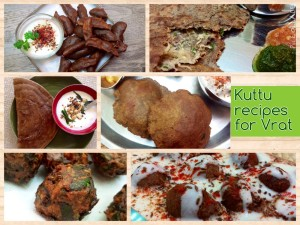 Kuttu Recipes for Vrat