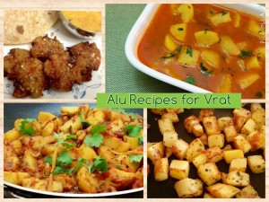 Alu Recipes for Vrat