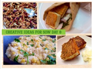 Creative Ideas for SOW Day 8