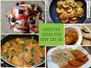 Creative Ideas for SOW Day 20