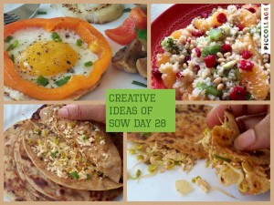 Creative ideas for Sow Day 28