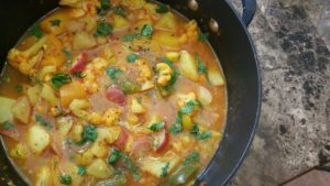 Ambika's Spicy Vegetable Stew